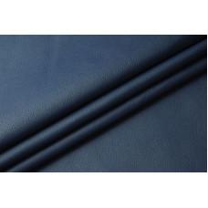 Текстурная переплетная экокожа синий матовый 50х70 см