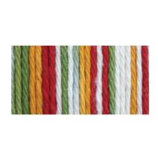 Пряжа для вязания Lily Sugar'n Cream Yarn - Ombres -Mango Madness, 57г