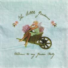 Салфетка для декупажа The Little Gardener 33х33 см, 1 шт от компании Panduro