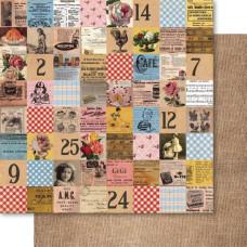 Двусторонняя бумага Patchwork 30х30 см от Ruby Rock-It