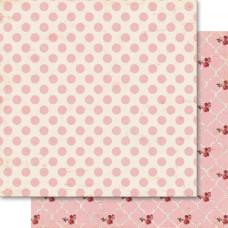 Двусторонняя бумага Polka 30х30 см от Ruby Rock-It