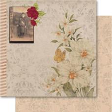 Двусторонняя бумага Lily 30х30 см от Ruby Rock-It
