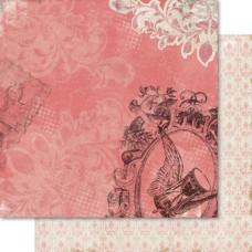 Двусторонняя бумага Hourglass 30х30 см от Ruby Rock-It