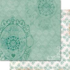 Двусторонняя бумага Drawing Room 30х30 см от Ruby Rock-It