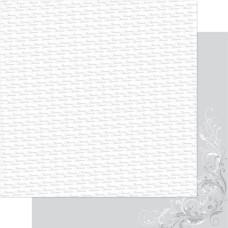 Двусторонняя перламутровая бумага Silver & White Forever 30х30 см от Ruby Rock-It