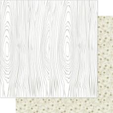 Двусторонняя бумага Neutral Trunk 30х30 см от Ruby Rock-It