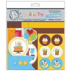 Набор для создания открыток Birthday Boy от Ruby Rock-It