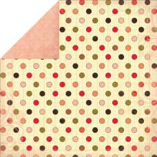 Двусторонняя бумага Hannah 30х30 см от Kaisercraft
