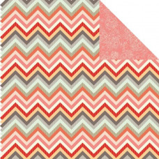 Двусторонняя бумага Peachy Keen 30х30 см от Kaisercraft
