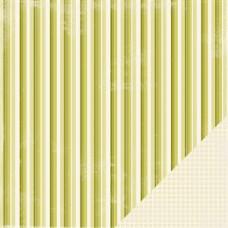 Двусторонняя бумага для скрапбукинга Skinni Stripe от Making Memories