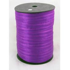 Лента из органзы фиолетового цвета, ширина 6 мм, длина 5 м