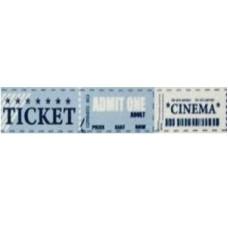"""Бумажный скотч """"Счастливый билетик"""", ширина 15 мм, длина 8 м от ScrapBerry's"""
