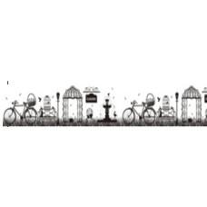 """Бумажный скотч """"Старинный парк"""", ширина 30 мм, длина 8 м от ScrapBerry's"""