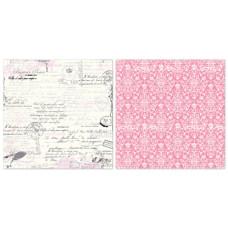 Двусторонняя бумага Love Letters 30х30 см от Echo Park