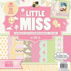 Набор бумаги Little Miss 30х30 см 24 листа от DCWV