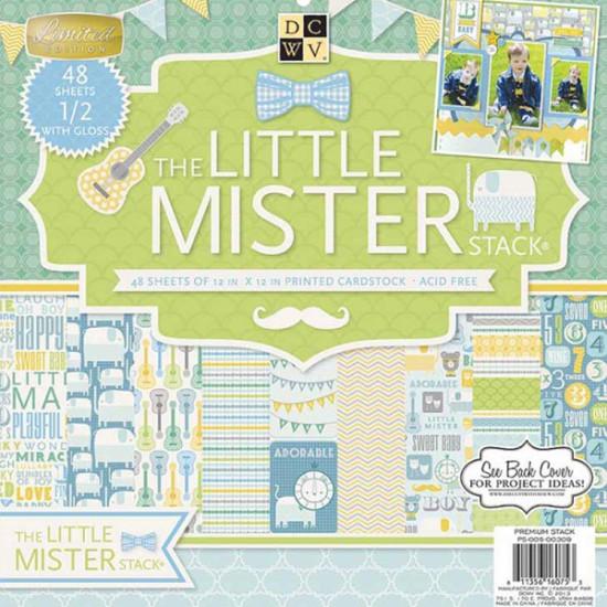 Набор бумаги Little Mister 30х30 см 24 листа от DCWV