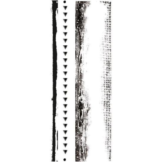 Акриловый штамп Edges от Kaisercraft, 13х5 см