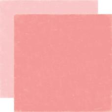 Двусторонняя бумага Light Pink/Dark Pink 30х30 см от Echo Park