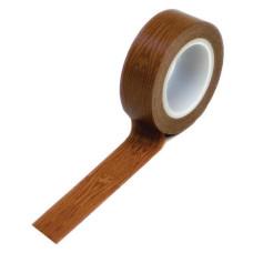 Бумажный скотч Wood 9 м, 15 мм от компании Queen and Co