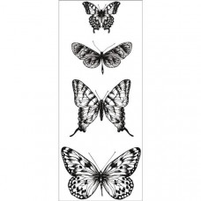 Акриловый штамп Butterflies 13х5 см от Kaisercraft