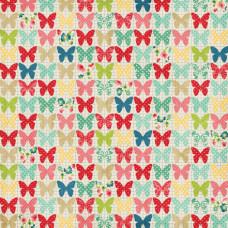 Двусторонняя бумага Butterflies 30х30 см от компании Echo Park