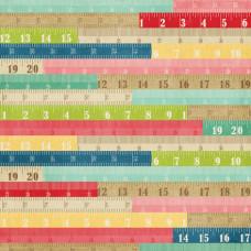 Двусторонняя бумага Rulers 30х30 см от компании Echo Park