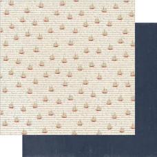 Двусторонняя бумага Calm 30х30 см от Authentique Paper