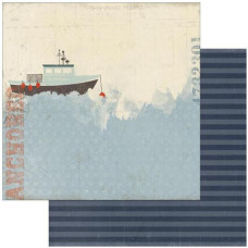 Двусторонняя бумага Embark 30х30 см от Authentique Paper