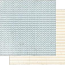 Двусторонняя бумага Tranquil 30х30 см от Authentique Paper