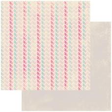 Двусторонняя бумага Interlock 30х30 см от Authentique Paper