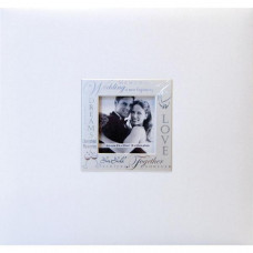Альбом для скрапбукинга Wedding - White 20x20 см от MBI