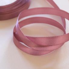 Атласная лента пепельно-розового цвета, длина 90 см, ширина 10 мм