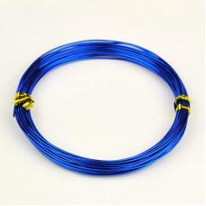 Алюминиевая проволока синего цвета, длина 10 м