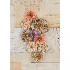 Набор цветочков Paper Tiara, 8 шт от Prima