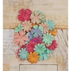 Набор цветочков Paper Prince Charming, 36 шт от Prima.