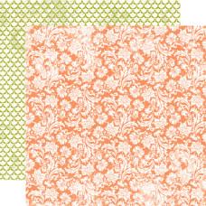 Двусторонняя бумага Blooming Blossoms 30х30 см от Echo Park