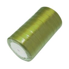 Атласная ленточка темно-зеленого цвета, ширина 16 мм, длина 90 см