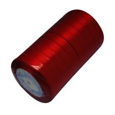 Атласная ленточка бордового цвета, ширина 16 мм, длина 90 см