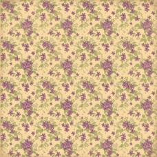 Двусторонняя бумага Весенний Праздник. Сирень - 30,5х30,5 см от ScrapBerry's