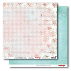 Двусторонняя бумага  Розы: Дольче Вита  30,5 х30, 5 см от ScrapBerry's