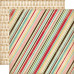 Двусторонняя бумага Baking Stripe 30х30 см от Carta Bella