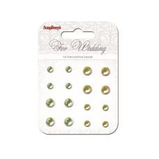 "Брадсы, набор из 16 шт ""For wedding"" от ScrapBerry's"