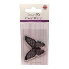 Акриловый штамп Spiral Butterfly от компании Dovecraft