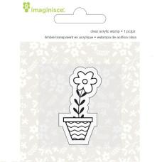 Акриловый штамп  Welcome Spring - Flower от компании Imaginisce