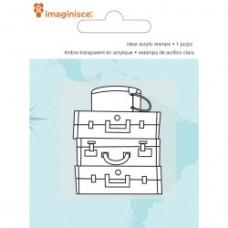 Акриловый штамп  Perfect Vacation - Luggage от компании Imaginisce
