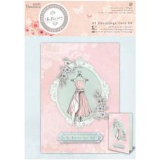 Набор для создания открыток Bellisima A5 Decoupage Card Kit от Papermania