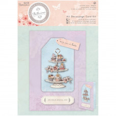 Набор для создания открыток Bellisima A5 Decoupage Card Kit Cupcake от Papermania