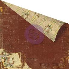 Двусторонняя бумага Dark Lines 30х30 см от компании Prima