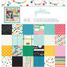 Набор бумаги Birthday Wish 24 л. 30х30 см от Pebbles