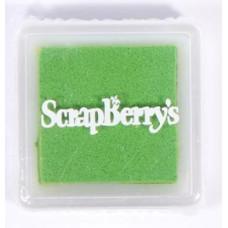 Пигментные чернила для штампинга, 2.5х2.5 см, цвет светло-зеленый от Scrapberry's